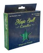 Eternal Flame Magic Spell Candles - Pack of 20 - Green