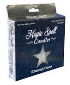 Eternal Flame Magic Spell Candles - Pack of 20 - White