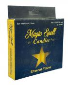 Eternal Flame Magic Spell Candles - Pack of 20 - Yellow