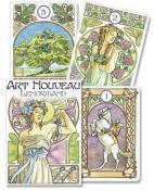 Art Nouveau Lenormand Oracle by Lunaea A. Weatherstone