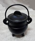 Plain Cast Iron Potbelly Cauldron