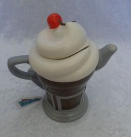 "Retroflection - ""Tea For One"" - Cheri's Diner Ceramic Mini Milkshake"