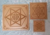 The Infinite Hexagram Crystal Grid Board