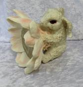 Rabbit and Lotus Statue- Purity