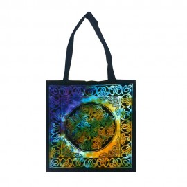 Celtic Knot Cotton Tote Bag.
