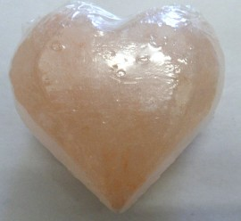Himalayan Heart Shaped Salt Soap (Large) 190g