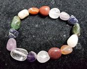 Tumbled Gemstone Bracelet