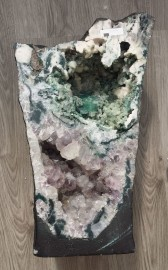 Rare Natural Amethyst & ChalcedonyCave