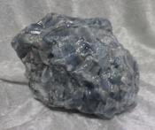 Natural Large Blue Calcite Cluster