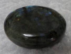 Natural Oval Shaped Labradorite Crystal - 125 grams