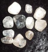 Black Rutile Tumbled Stones