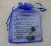 Crystal Healing Tumble Stone Kit - Self Confidence