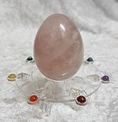Rose Quartz Egg