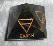 Four (4) Element Labradorite Pyramid