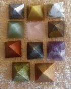 Small Mixed Gemstone Pyramids