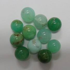 Australian Chrysoprase Small Spheres