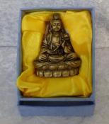 Quan Yin Statue  - Brass Finish
