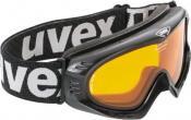 Uvex Cevron Ski / Snowboarding Goggles - Black / Goldlite S1